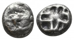 Parion AR Drachm, c. 500-475 BC  Condition: Very Fine  Weight: 3.20 gr Diameter: 12 mm