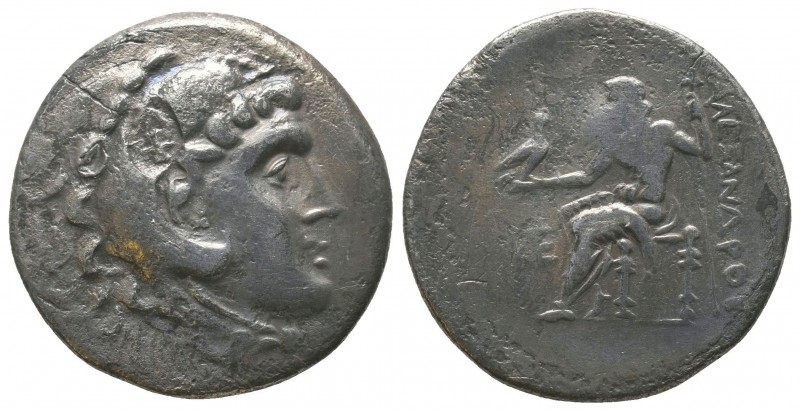 "Kings of Macedon . Alexander III. ""The Great"" (336-323 BC). AR Tetradrachm  Cond..."