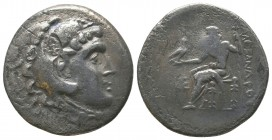 "Kings of Macedon . Alexander III. ""The Great"" (336-323 BC). AR Tetradrachm  Condition: Very Fine  Weight: 15.80 gr Diameter: 31 mm"