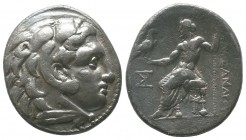 "Kings of Macedon . Alexander III. ""The Great"" (336-323 BC). AR Tetradrachm  Condition: Very Fine  Weight: 16.80 gr Diameter: 29 mm"