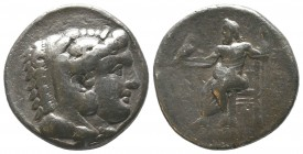 "Kings of Macedon . Alexander III. ""The Great"" (336-323 BC). AR Tetradrachm  Condition: Very Fine  Weight: 16.80 gr Diameter: 27 mm"