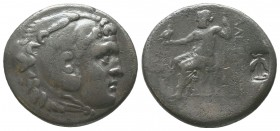 "Kings of Macedon . Alexander III. ""The Great"" (336-323 BC). AR Tetradrachm  Condition: Very Fine  Weight: 15.80 gr Diameter: 30 mm"