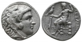 "Kings of Macedon . Alexander III. ""The Great"" (336-323 BC). AR Tetradrachm  Condition: Very Fine  Weight: 15.60 gr Diameter: 24 mm"