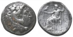 "Kings of Macedon . Alexander III. ""The Great"" (336-323 BC). AR Tetradrachm  Condition: Very Fine  Weight: 16.40 gr Diameter: 27 mm"