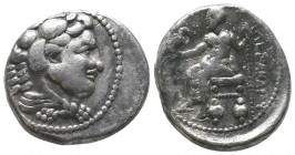 "Kings of Macedon . Alexander III. ""The Great"" (336-323 BC). AR Tetradrachm  Condition: Very Fine  Weight: 16.70 gr Diameter: 27 mm"