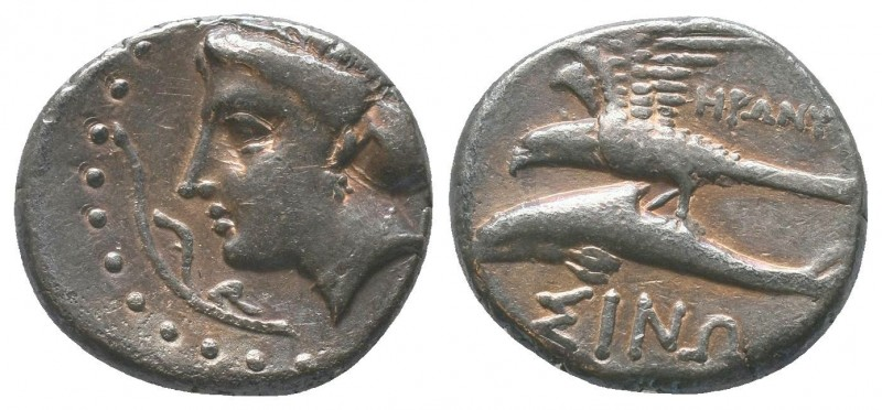PAPHLAGONIA. Sinope. Ca. 410-350 BC. AR stater  Condition: Very Fine  Weight: 6....