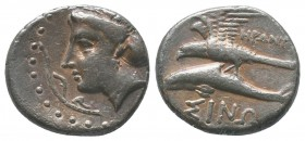 PAPHLAGONIA. Sinope. Ca. 410-350 BC. AR stater  Condition: Very Fine  Weight: 6.00 gr Diameter: 20 mm