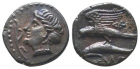 PAPHLAGONIA. Sinope. Ca. 410-350 BC. AR stater  Condition: Very Fine  Weight: 5.30 gr Diameter: 19 mm