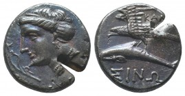 PAPHLAGONIA. Sinope. Ca. 410-350 BC. AR stater  Condition: Very Fine  Weight: 6.00 gr Diameter: 18 mm