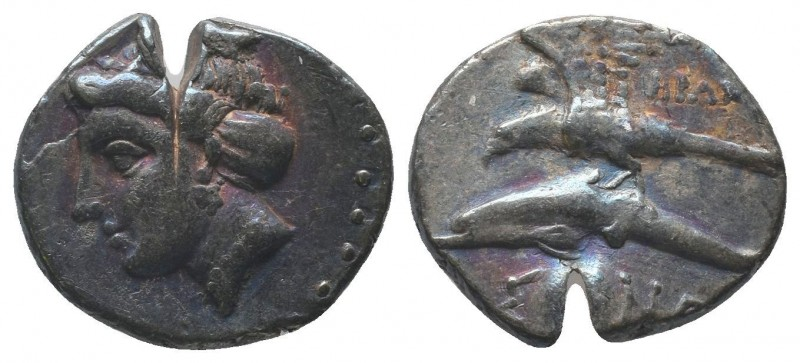 PAPHLAGONIA. Sinope. Ca. 410-350 BC. AR stater  Condition: Very Fine  Weight: 5....