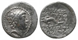 SELEUCID KINGDOM. Demetrius II, 1st reign (145-138 BC). Silver drachm Very RARE!  Condition: Very Fine  Weight: 3.30 gr Diameter: 17 mm