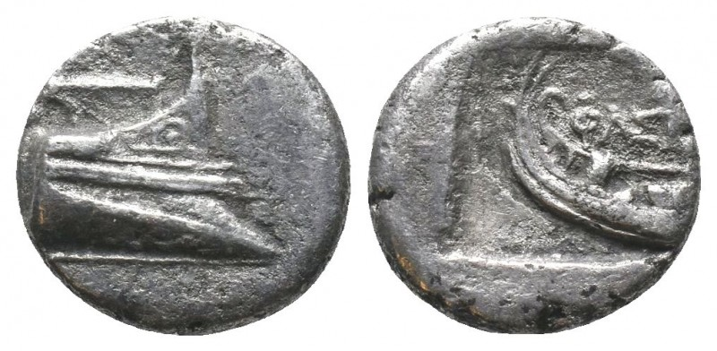 LYCIA, Phaselis. 4th century BC. AR   Condition: Very Fine  Weight: 2.70 gr Diam...