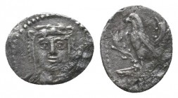 Cilicia, Uncertain mint. AR Obol. Circa 4th century BC.   Condition: Very Fine  Weight: 0.50 gr Diameter: 11 mm