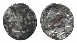 Cilicia, Uncertain AR Obol. 4th century BC.   Condition: Very Fine  Weight: 0.60 gr Diameter: 9 mm