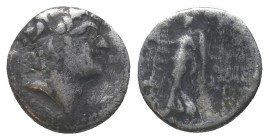 Seleukid Kings of Syria. Alexander I AR RARE! Condition: Very Fine  Weight: 1.50 gr Diameter: 13 mm