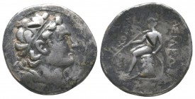 Antiochus II Theos (261-246 BC). AR tetradrachm   Condition: Very Fine  Weight: 14.20 gr Diameter: 28 mm
