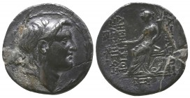 Seleukid Kings of Syria, Demetrios AR Tetradrachm, 145-143 BC.  Condition: Very Fine  Weight: 16.30 gr Diameter: 31 mm