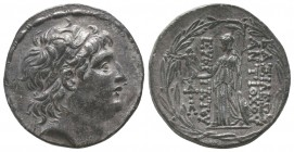 SELEUKID KINGDOM. Antiochus VII Eurgetes (138-129 BC). AR tetradrachm  Condition: Very Fine  Weight: 16.50 gr Diameter: 30 mm