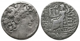 SELEUKID EMPIRE. Philip I Philadelphos (93-83 BC). Tetradrachm. Antioch.  Condition: Very Fine  Weight: 14.60 gr Diameter: 26 mm