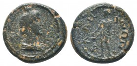 PISIDIA, Baris, semi-autonomous issue 200 and 267 AD, AE  Condition: Very Fine  Weight: 3.60 gr Diameter: 13 mm