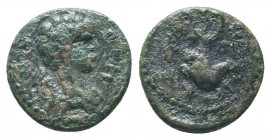 Pseudo-autonomous (2nd-3rd centuries). Ae.   Condition: Very Fine  Weight: 1.60 gr Diameter: 13 mm