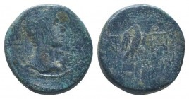 PHRYGIA. Apamea. Augustus (27 BC-14 AD). Ae.   Condition: Very Fine  Weight: 3.30 gr Diameter: 15 mm