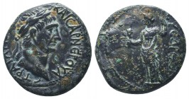 CILICIA, Syedra, Trajan c. 98-117 AD, AE  Condition: Very Fine  Weight: 8.50 gr Diameter: 23 mm