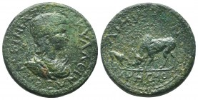 Tranquillina c. 242-244 AD, AE,   Condition: Very Fine  Weight: 20.10 gr Diameter: 29 mm
