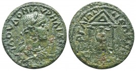PAMPHYLIA, Perga, Aurelian c. 270-275 AD, AE,   Condition: Very Fine  Weight: 10.00 gr Diameter: 28 mm