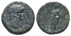 PHRYGIA, Prymnessus, Nero c. 54-68 AD, AE,   Condition: Very Fine  Weight: 5.60 gr Diameter: 19 mm
