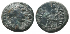 CILICIA, Laertes, Trajan c. 98-117 AD, AE,   Condition: Very Fine  Weight: 5.60 gr Diameter: 18 mm