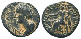 Faustina Junior (Augusta, 147-175). Phrygia,   Condition: Very Fine  Weight: 4.60 gr Diameter: 19 mm
