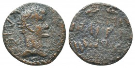 Augustus (27 BC - 14 AD). AE  Condition: Very Fine  Weight: 3.70 gr Diameter: 18 mm