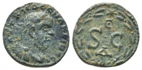 Syria, Antioch on the Orontes. Macrinus. A.D. 217-218. AE  Condition: Very Fine  Weight: 5.70 gr Diameter: 19 mm