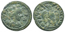 LYDIA, Thyateira. Pseudo-autonomous issue. Time of Hadrian, AD 117-138. Æ   Condition: Very Fine  Weight: 5.30 gr Diameter: 22 mm