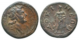Phrygia. Dokimeion . Pseudo-autonomous issue 3rd cenntury AD. Bronze Æ  Condition: Very Fine  Weight: 3.20 gr Diameter: 19 mm