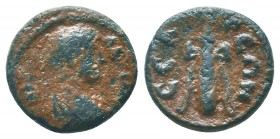 Faustina Junior (Augusta, 147-175). Pisidia, Selge. Æ  Condition: Very Fine  Weight: 2.50 gr Diameter: 15 mm