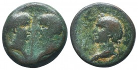 CILICIA(?), Uncertain. Vespasian, with Titus and Domitian as Caesars. AD 69-79. Æ   Condition: Very Fine  Weight: 9.90 gr Diameter: 23 mm