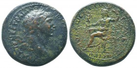 Trajan; 98-117 AD, Ae  Condition: Very Fine  Weight: 28.80 gr Diameter: 33 mm