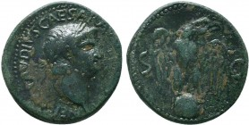 Nero (AD 54-68) (2), AE As, Rome   Condition: Very Fine  Weight: 10.70 gr Diameter: 27 mm