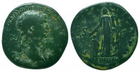 TRAJAN (98-117). Sestertius. Rome.  Condition: Very Fine  Weight: 26.30 gr Diameter: 33 mm