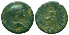 TRAJAN (98-117). Ae As. Rome.  Condition: Very Fine  Weight: 11.20 gr Diameter: 26 mm