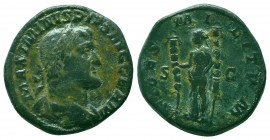 Maximinus 235-238 Sestertius, Rome,  Condition: Very Fine  Weight: 22.90 gr Diameter: 30 mm