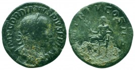 Gordian III Æ Sestertius. Rome, AD 240.   Condition: Very Fine  Weight: 18.70 gr Diameter: 30 mm