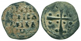 CRUSADERS. Uncertain. 1108-1118 AD.AE Follis.   Condition: Very Fine  Weight: 2.50 gr Diameter: 24 mm