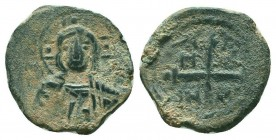 CRUSADERS.Tancred, 1112-1119 AD.AE Follis.Antioch mint  Condition: Very Fine  Weight: 4.20 gr Diameter: 20 mm