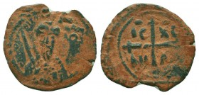 CRUSADERS.Tancred, 1112-1119 AD.AE Follis.Antioch mint  Condition: Very Fine  Weight: 3.00 gr Diameter: 23 mm
