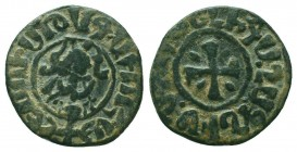 ARMENIA. Hetoum I,1226-1270 AD. AE Tank.  Condition: Very Fine  Weight: 4.20 gr Diameter: 22 mm