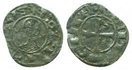 CRUSADERS, Antioch. Bohémond III. 1163-1201. AR Denier  Condition: Very Fine  Weight: 0.80 gr Diameter: 18 mm