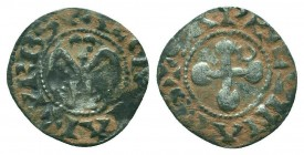 CRUSADERS. Bishop of Valence.AR Denier  Condition: Very Fine  Weight: 0.80 gr Diameter: 17 mm